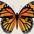 Monarch Butterfly by Eclectic at HeART