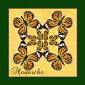 Monarch Butterfly Pin Wheel by Melissa A Benson