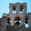 Monastery Bell Tower On Patmos Island Greece by Just Eclectic