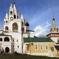 Monastery In Zvenigorod, Russia by Alex Galkin