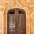 Monastery Of Jeronimos Door by Curt Rush