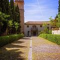 Monastery Of Saint Jerome Approach by Joan Carroll