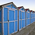 Mondello Beach Cabanas by Madeline Ellis