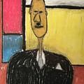 Mondrian's Moustache by Mario MJ Perron