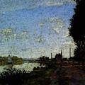 Monet Argenteuil  by PixBreak Art