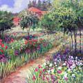 Monet's Garden  by Laurie Hein