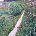 Monet's Garden Path by Tom Roderick
