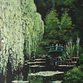 Monet's Garden by Tony Gunning