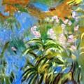 Monet's Irises by Jamie Frier