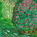 Monet's Parc Monceau by Susan Schanerman