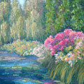 Monet's Pond by Bunny Oliver