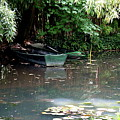 Monets Rowboats by Christiane Schulze Art And Photography