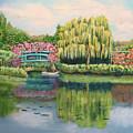 Monet's Summer Garden No.2 by Carole Sluski