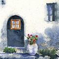 Monevasia Doorway by Marsha Elliott