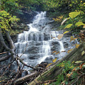Money Brook Falls Mount Greylock by John Burk