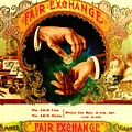 Money Cigar Label by Marianne Dow