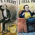 Money Lending, 1870 by Granger