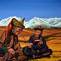 Mongolia Land Of The Eternal Blue Sky by Paul Meijering