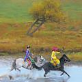 Mongolian Rider by Kok Siong Tan