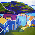 Monhegan Harbor by Debra Bretton Robinson