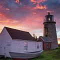 Monhegan Lighthouse by Darylann Leonard Photography