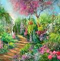 Monica's Garden by Sally Seago