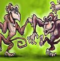 Monkey Dance by Kevin Middleton