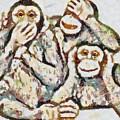 Monkey See Monkey Do Fragmented by Catherine Lott