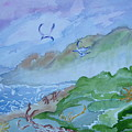 Monkeys Head Point Oregon by Margaret G Calenda