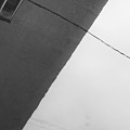 Monochrome Building Abstract 1 by John Williams