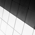 Monochrome Building Abstract 3 by John Williams