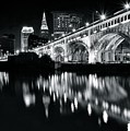 Monochrome Cleveland by Frozen in Time Fine Art Photography