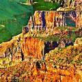 Monolith North Rim Grand Canyon by Bob and Nadine Johnston