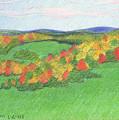 Monongalia County Autumn by Harriet Emerson
