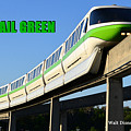 Monorail Green Wdwrf by David Lee Thompson