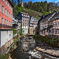 Monschau Village View by Anthony Dezenzio