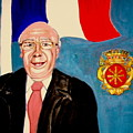 Monsieur Jean Claude Darque. Le Maire De Auchy Les Hesdin by Rusty Gladdish