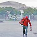 Monsoon Rain Walk by Steve Ohlsen