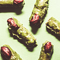 Monster Fingers Halloween Candy by Jorgo Photography - Wall Art Gallery