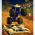Monster Truck 1a by Walter Herrit