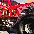 Monster Truck El Diablo by Jeelan Clark