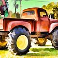 Monster Truck - Grave Digger 1 by Jeelan Clark