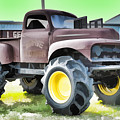 Monster Truck - Grave Digger 3 by Jeelan Clark