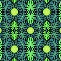Monstera Leaves Pattern by Julia Khoroshikh