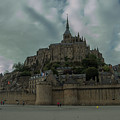 Mont Saint Michel 1 by Marcel Van der Stroom