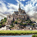Mont Saint-michel by Anthony Dezenzio