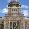 Montana Capitol Building by Jerry Fornarotto