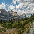 Montana Going To The Sun Road Cloudy Day by John McGraw