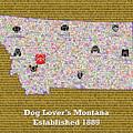 Montana Loves Dogs by Bradley Bennett