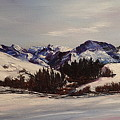 Squaw Creek  Madison Range      3 by Cheryl Nancy Ann Gordon